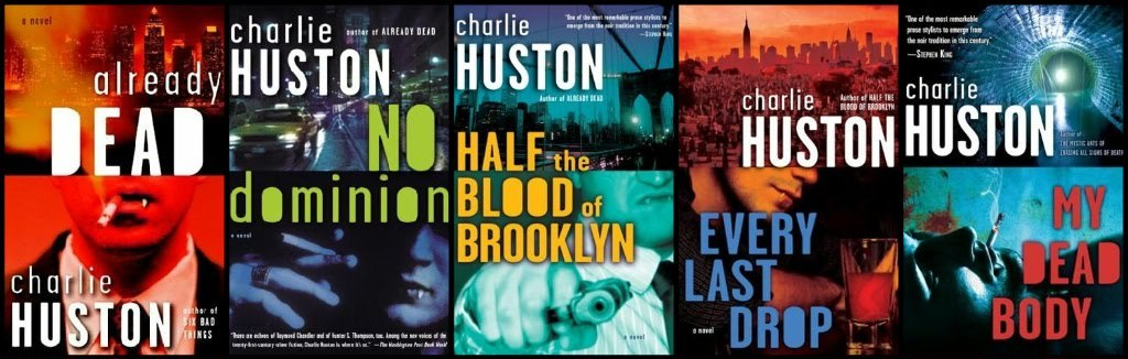 Joe Pitt Casebooks (books 1-5) - Charlie Huston